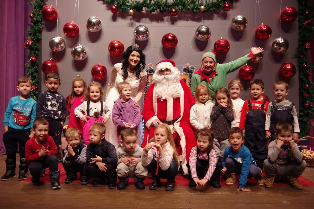 Среща с Дядо Коледа в Правец - 2018